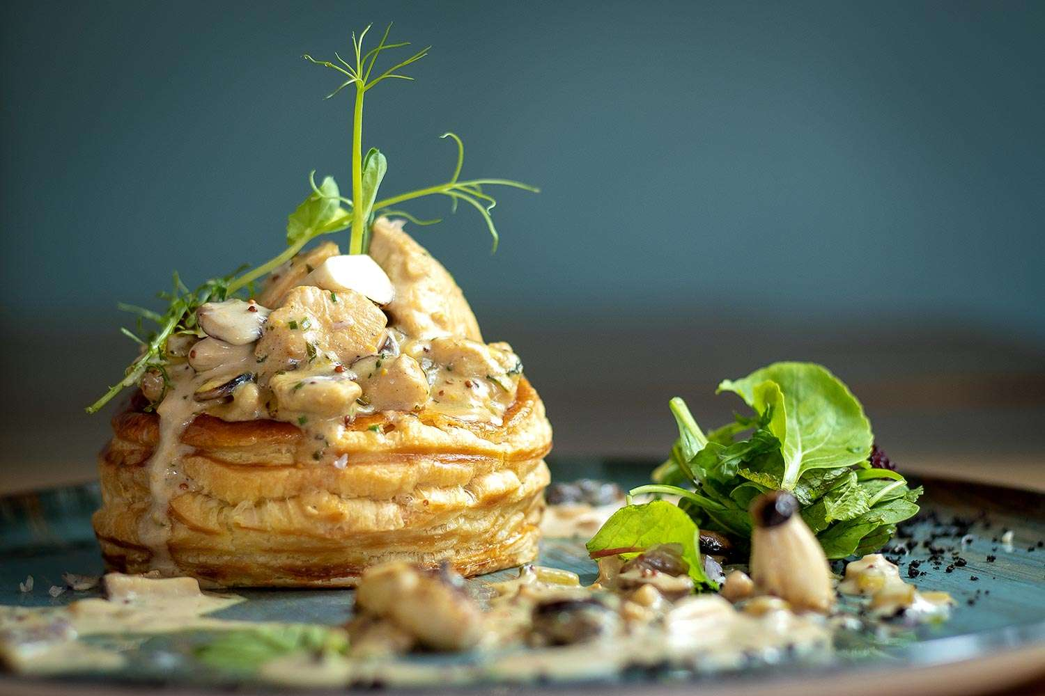 CHICKEN MUSTARD VOL-AU-VENT